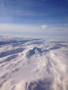 Halde toppen i kåfjord alta , Norge