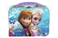 Disney Frozen Puzzle in Tin with Handle (48-Piece) | Code: 01245 | Beautiful graphics depict your favorite characters from the Disney hit movie, Frozen. 48 pc puzzle easy to assemble over and over. Tin can be used for a handy storage container, until time to build again! | - To order: http://www.shopaholic.com.ph/#!/Disney-Frozen-Puzzle-in-Tin-with-Handle-48-Piece/p/39653042