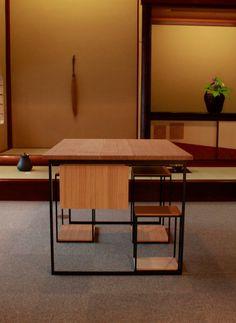 Ryurei-joku (a set of tea service table and chair)