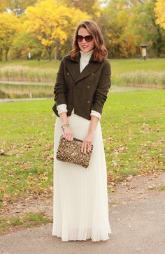 Penny Pincher Fashion: Maximum Potential- cute fall outfit! I just wish the skirt was knee length...