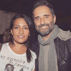 Ana Tijoux y Jorge Drexler. Foto de Instagram.