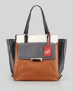 Diane von Furstenberg   Highline Colorblock Tote Bag - CUSP $495