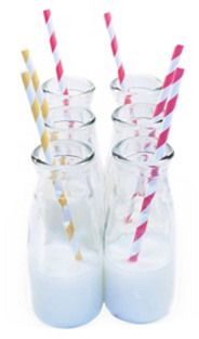 Great idea for an unusual party drinking glass.
