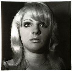 Diane Arbus | Blond Girl with Shiney Lipstick (1967) | Artsy