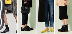 Negro y amarillo se convierten en protagonistas de una #Colección en la que hay espacio para #Botines de punta y #Tacón chupete, #Botas con #Plataforma, #Zapatos de salón con punta afilada, #Bluchers efecto cocodrilo y #Sneakers con acabado metálico son de #BimbayLola