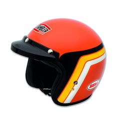 Ducati Scrambler Orange Track Helmet - 98103350 – Online Store - Fraser Motorcycles