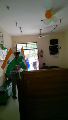 Independence day celebration in Shanti Home