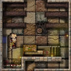 Dundjinni Mapping Software - Forums: 6x6 Dungeon Tile Set ...309 of them...