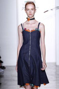 "forlikeminded: ""  Adam Selman - New York Fashion Week / Spring 2016 Model: Dani Witt """