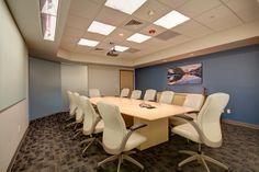 MTech Mechanical (Colorado) Aurora executive/management seating in conference room. #NationalOffice #FurnitureWithPersonality