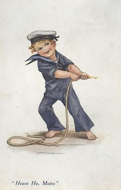 Vintage little boy