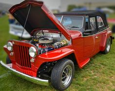 https://flic.kr/p/CPYbRd | The Jeepster | 1949 Willys Jeepster - Beautifully restored