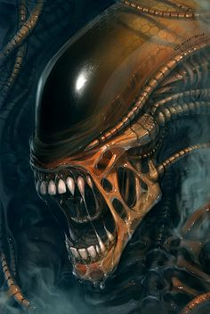 Alien by GARY CHAN More of is art here: chancarfree.artstation.com