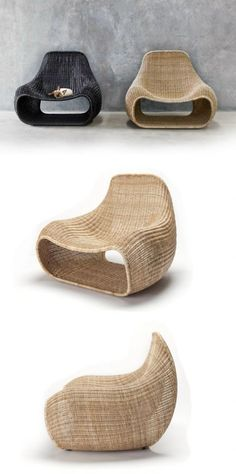 Feelgood Design when and are warm cosy and inviting The collections at immcologne Nest Lounge Chair Furniture Theres something artistic and inventive about rattan furnis.