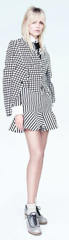 Natasha Poly by Willy Vanderperre | Vogue China May 2014