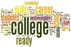 College and career wordle