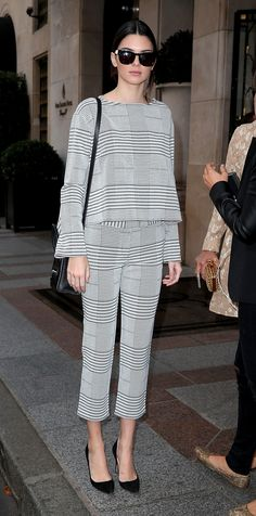 How to Rock Menswear Like Your Favorite Celebrities - Kendall Jenner  - from InStyle.com