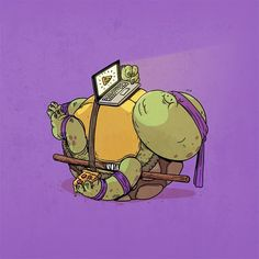 Alex Solis - The Famous Chunkies Fat Character, Character Design, Fat Cartoon Characters, Geeks, Alex Solis, Ninja Wallpaper, Iphone Wallpaper, Favorite Cartoon Character, Geek Art