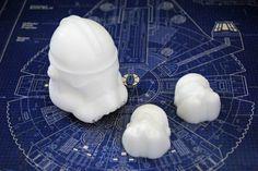 3 x Handmade Storm Trooper Soaps – Star Wars, Christmas gift, stocking gift | eBay