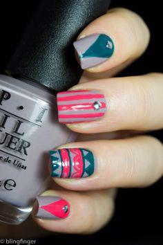 OPI Brazil- Nail Art