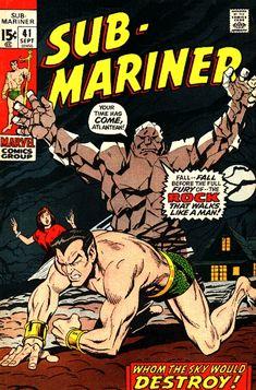sub marinor | Sub-Mariner Vol 1 41 - Marvel Comics Database