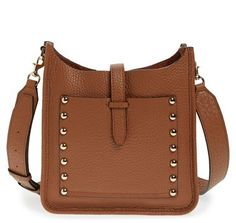 Rebecca Minkoff Small 'Feed' Bag - Brown