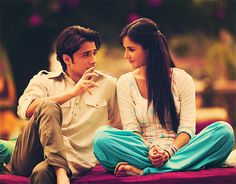 Ali Zafar and Katrina Kaif in Mere Brother Ki Dulhan. #Bollywood