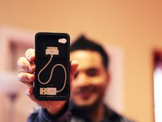 Cord-On-Board iPhone 4 Case