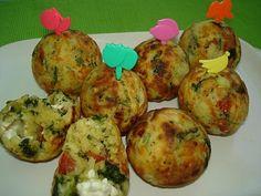 spinach, tomato and feta ebilskivers