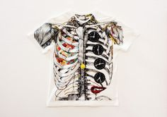 Wataru Yoshida Anatomical T-shirts | who killed bambi?