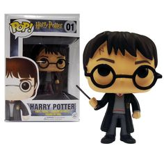 New Funko POP Harry Potter 01# Hot Movies Figure Model Toys PVC 10cm Collection gift In stock Free shipping