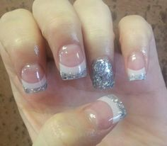 Acrylic nails by Jill