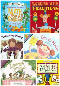 Great books that explain math concepts -- perfect for kids who HATE math but LOVE to read ;)