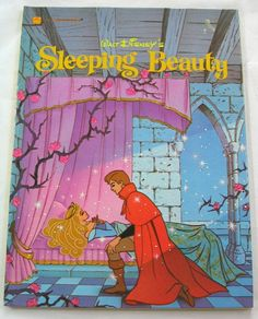 Sleeping Beauty, Vintage Large Golden Book, Walt Disney, by TheVintageRead Disney Love, Walt Disney, Autograph Book Disney, Disney Sleeping Beauty, Little Golden Books, Vintage Children's Books, Classic Books, Book Journal, Vintage Disney