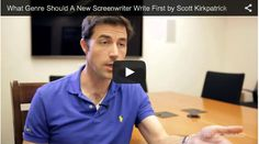 What Genre Should A New #Screenwriter Write First by Scott Kirkpatrick of '#Writing for the Green Light' via http://filmcourage.com/   For more videos, please visit https://www.youtube.com/user/filmcourage  #filmandtelevision #entertainmentindustry #script #writingtips #writer #write #screenplay #screenwriting101