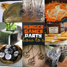 Great Fun etc: Hunger Games Party How To's (with Free Printables)