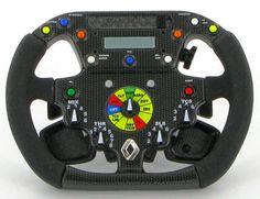 F1 Steering Wheel Controls | Renault F1 R26 Steering Wheel 1 4 scale Formula One