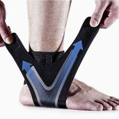 Adjustable Ankle Compression Brace Sore Ankle, Weak Ankles, Morton's Neuroma, Stress Fracture, Ankle Joint, Love Pain, Heel Pain, Sprain, Plantar Fasciitis