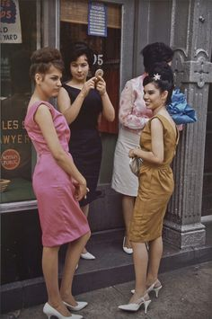 New York City 1963         Photo by Joel Meyerowitz , out for the night