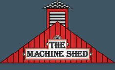 The Machine Shed - Davenport, IA. The best stuffed pork chop ever. Iowa pork is some of the best, not many states can compare.