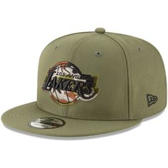 wholesale dealer 36062 0a628 Men s Los Angeles Lakers New Era Olive Camo Trim 9FIFTY Adjustable Hat,  Your Price   27.99