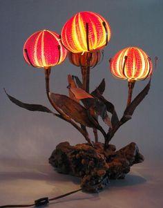 Sea urchin light fixture shades with metal base./5e06319eda06f020e43594a9c230972d/v/i/vintage_1960s_table_lamp_sea_shell_wood_root_vintage_1960s_table_lamp_sea_shell_wood_root_e_1.jpg
