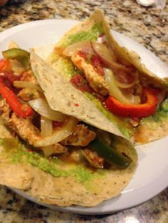 Alexa Eats Clean: RECIPE: Oven Baked Chicken Fajitas
