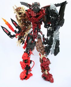 Bionicle MOC: The Dark Brother by Rahiden.deviantart.com