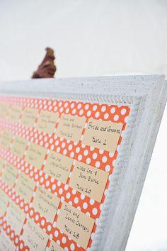 polka dot display  Photography by jwestwedding.com