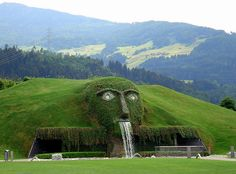 swarovski crystal world near innsbruck, austria