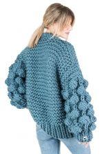 Cardigans Perla Denim thumbnail Knitwear Fashion, Cardigans, Sweaters, Resort Wear, Fashion Brand, Pullover, Denim, Knitting, Stylish