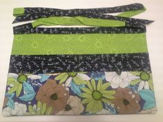 Teacher Appreciation Week gift- Utility Apron. Fave color is green, fave subject math. Used sugarbeecraft.com apron tutorial.