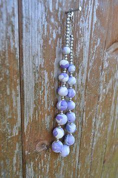 HandmadeFamily / Fialový náhrdelník