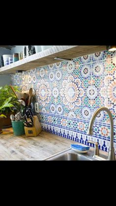 Moroccan style kitchen